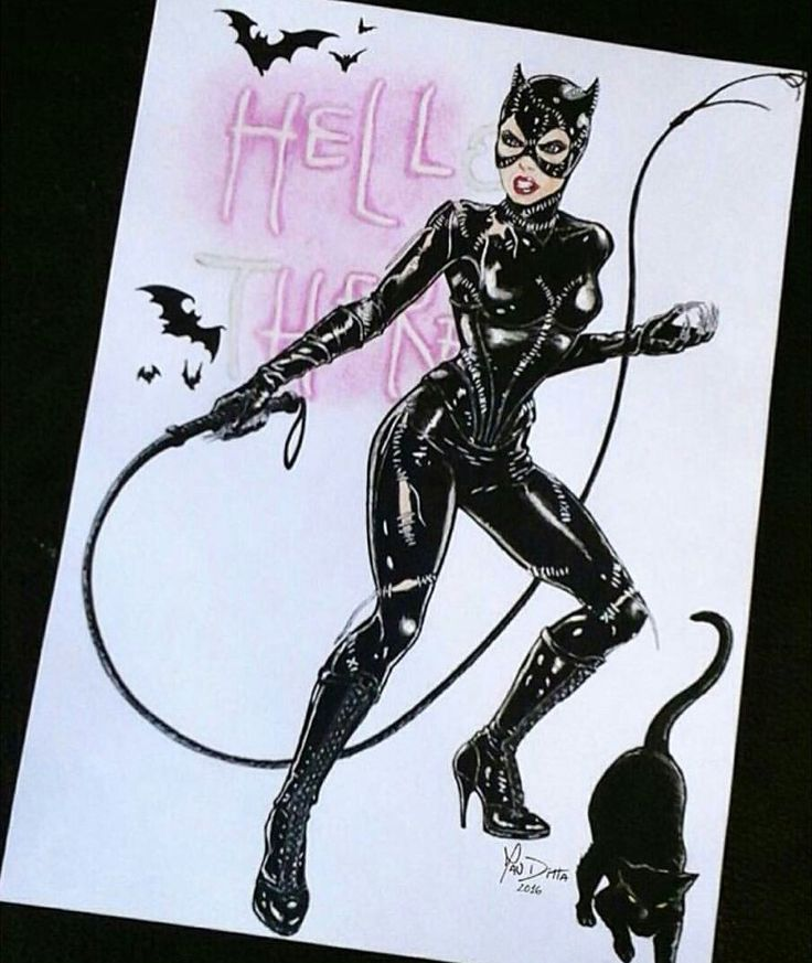 "Catwoman ""Hell Here"""