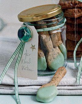 Teaspoon Cookies - Teelöffelchen - Selbstgemacht: Geschenke aus der Küche - [LIVING AT HOME]