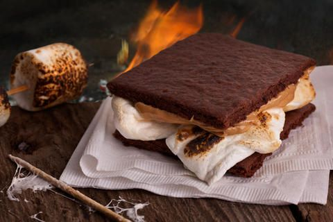 Homemade Chocolate Graham Cracker S'mores