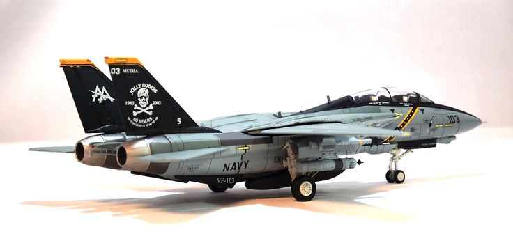 合金軍模 - HM 1:72 美國海軍F-14A/B大雄貓戰機 (圖) Jolly Rogers 低視雙機 - 軍事貼圖 - 軍事討論 - 香港討論區 Discuss ...