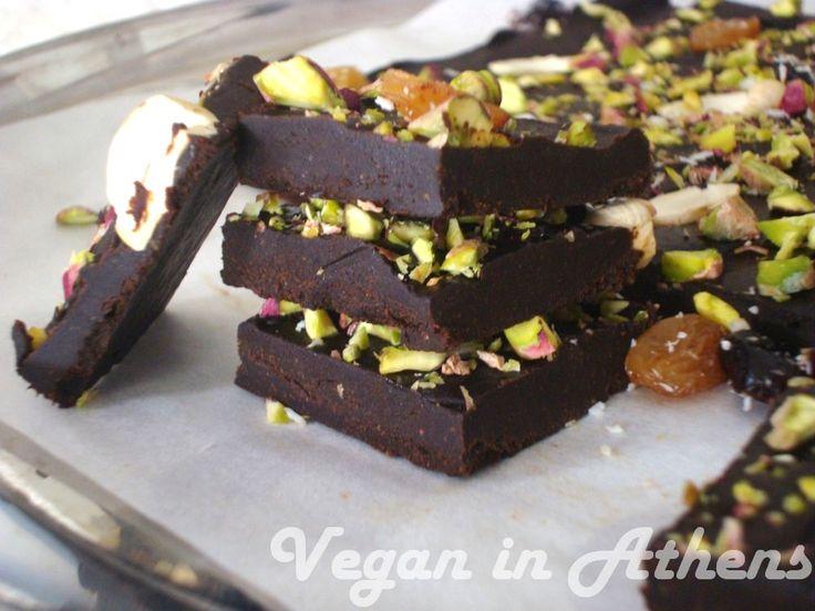 Easy, homemade carob-late - Vegan, sugar free and gluten free - Better than chocolate!!! #carobchocolate #vegan #caroblate #carob #glutenfree