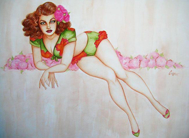 Horny slut strip tease