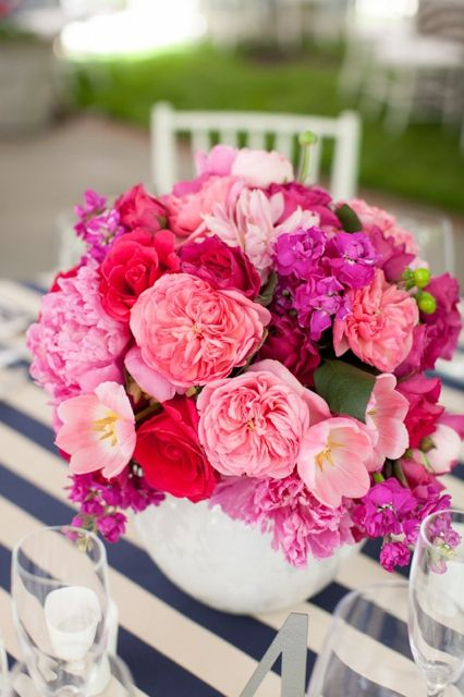 Best ideas about hot pink centerpieces on pinterest