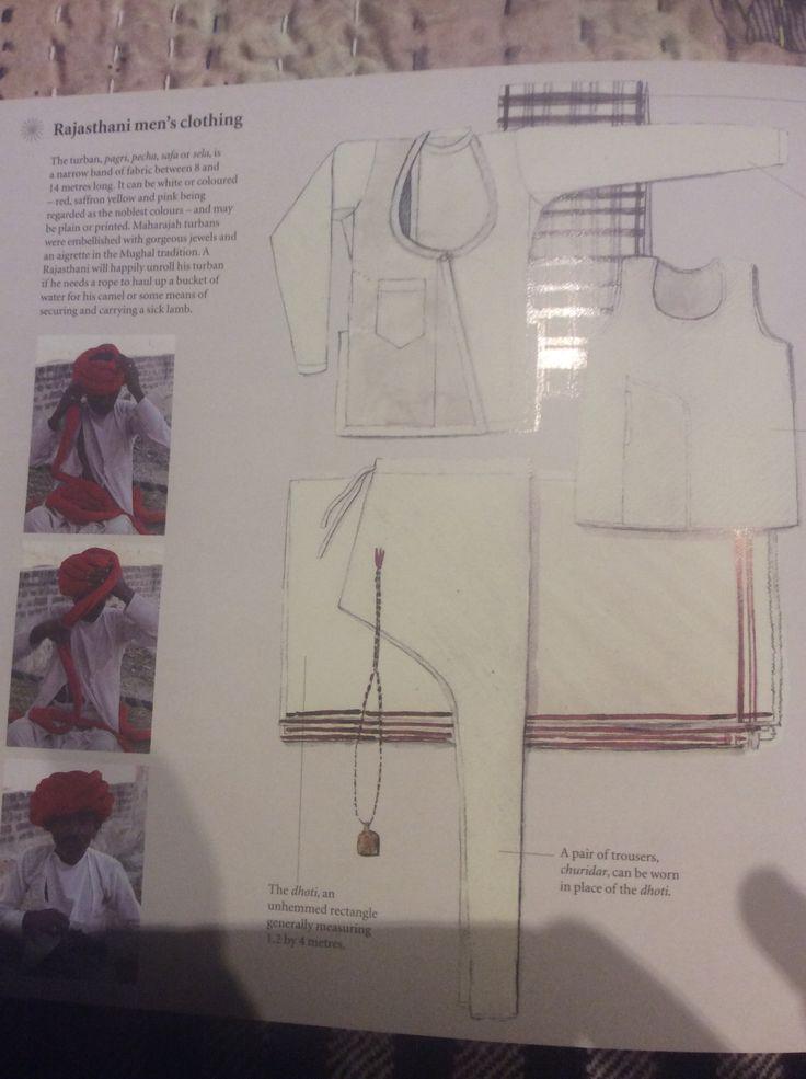 Rajastani mens clothing
