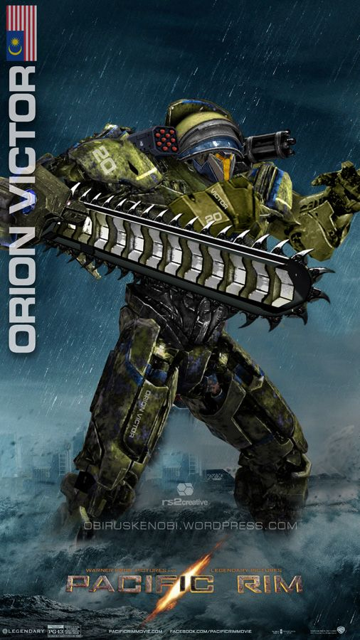 Custom Jaeger Orion Victor Malaysia by rs2studios on DeviantArt