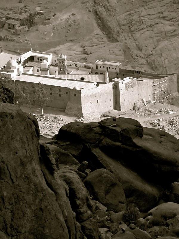 St Catherine's Monastery, Sinai, Egypt. Used in Exodus, ARKANE #3