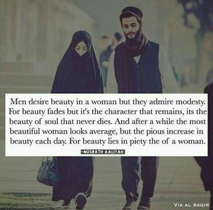 Pious woman. Alhamdulillah