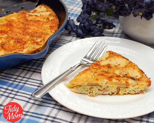 ABC Frittata (Apples, Bacon & Cheddar - think I'd leave out the apple...