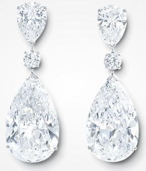 GRAFF Exceptionally Rare Diamond Earrings