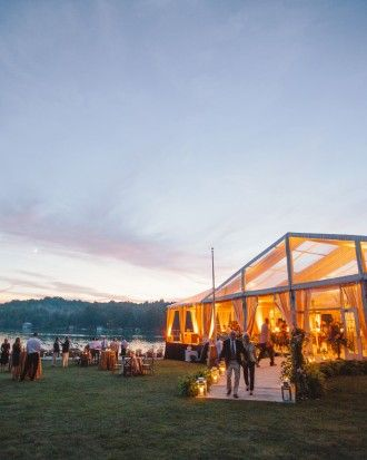 Lizzy and Bucky's Lakeside Michigan Destination Wedding - The Reception
