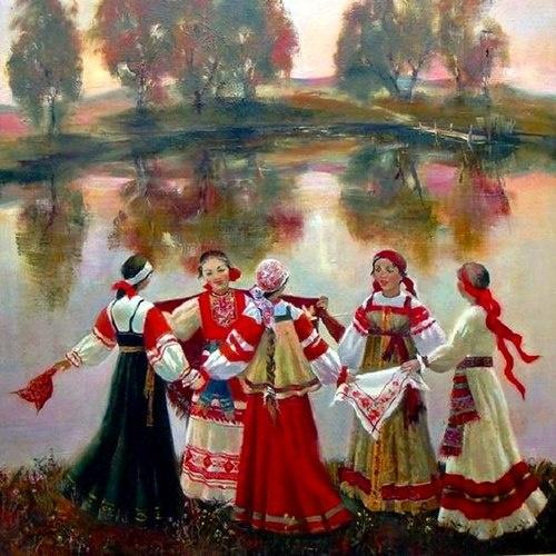 Russian sarafans