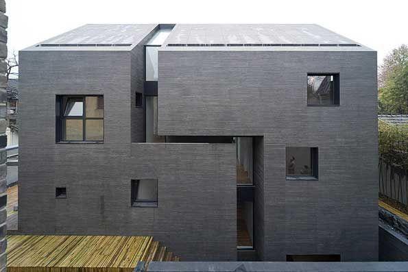 Architectonisch beton voorbeeld