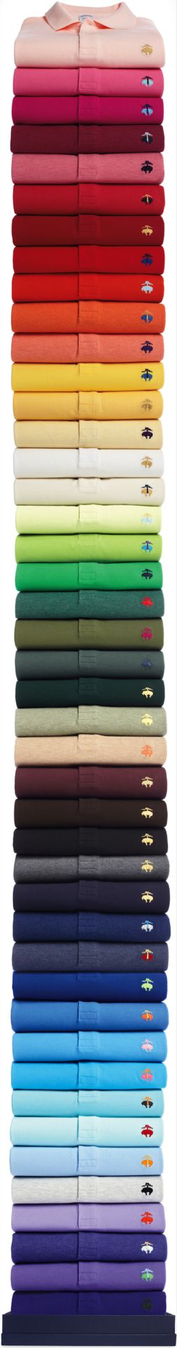 All the hues from the Brooks Brothers Collection.
