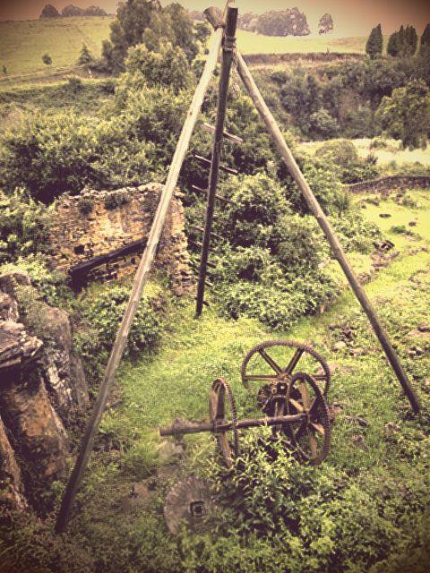 What's left of the old mill at Caversham Mill, the Midlands Meander, #KwaZuluNatal, #SouthAfrica www.midlandsmeander.co.za