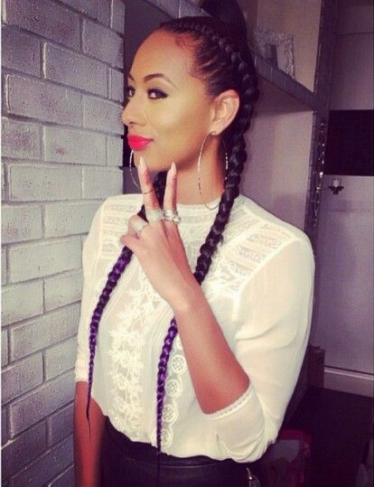 I always love Keri Hilson's braids!!!!!
