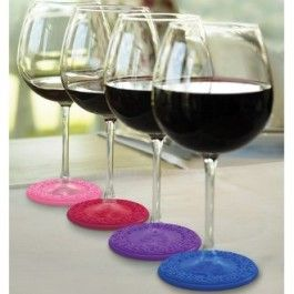 Sunset Drink Coasters And Wine Charms Cool Coasters