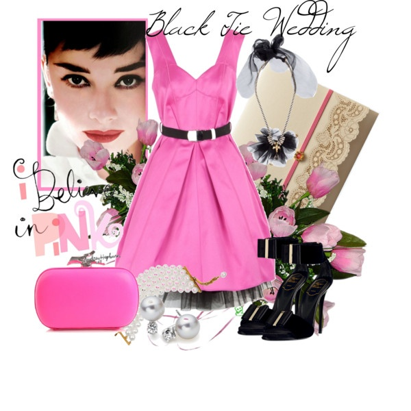 Black Tie Wedding, created by aprilgirl-rome on Polyvore