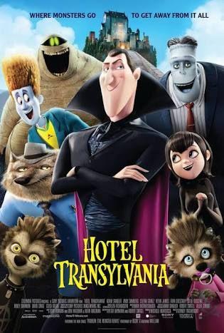 """Hotel Transylvania """"1️⃣"""":2012. Drama/Adventure Adam Sandler animated movie 🎥 📽"""
