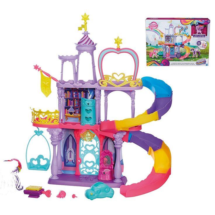 ¡El Castillo Mágico del Arcoíris My Little Pony incluye una figura exclusiva de la Princesa Twilight Sparkle!