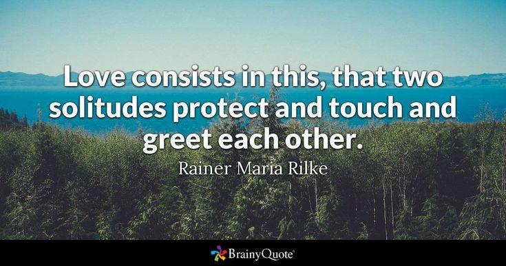 Best 25+ Rainer Maria Rilke Ideas On Pinterest