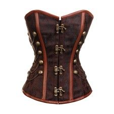 Military Inspired Steampunk Corset