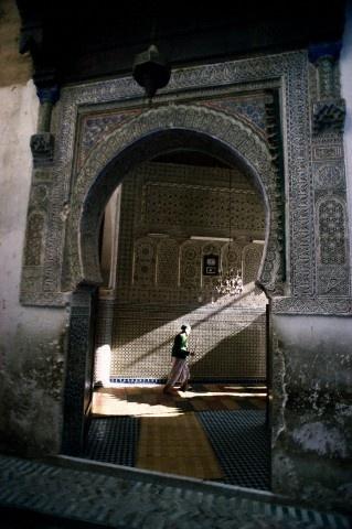 Ancienne médina !   Marrakech / Maroc .