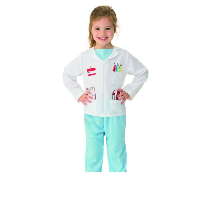 Doctor Costume - Ages 3-5 | Kmart