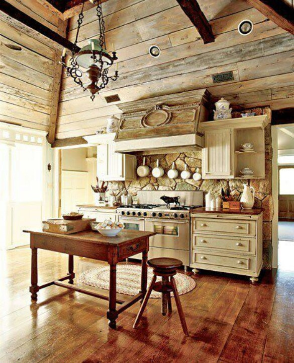 Love that the lower cabinets are made from dressers with added feet! I'm going to do this! Love it!