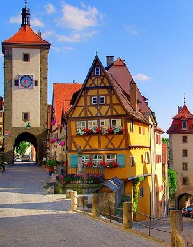 Fantastic Place Great Bakeries Gorgeous In Winter Rothenburg Germany