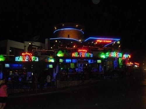 MR FROGS,BAR STREET,GUMBET,TURKEY