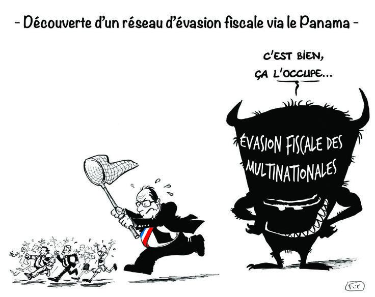 Découverte d'un réseau d'évasion fiscale via le Panama #PanamaPapers