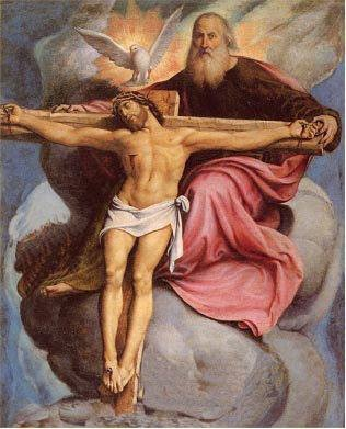 The Blessed Trinity - Father, Son and Holy Spirit