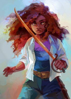 Hazel Levesque – Rick Riordan | art by viria