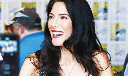 jaime murray. My double, according to a girl last night.