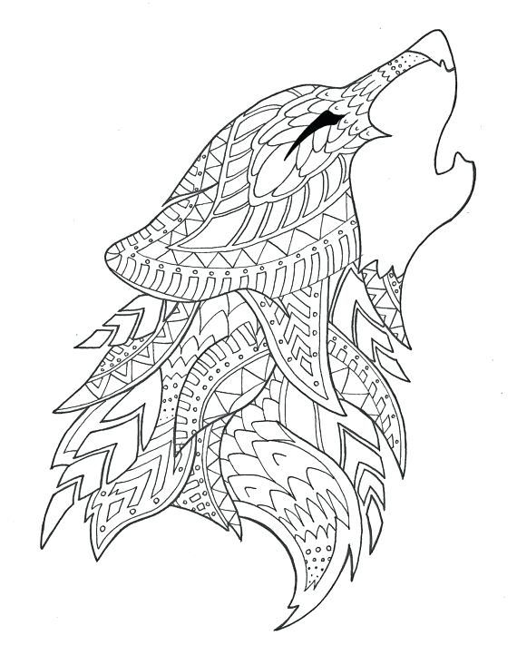 Minecraft Fox Coloring Pages Display