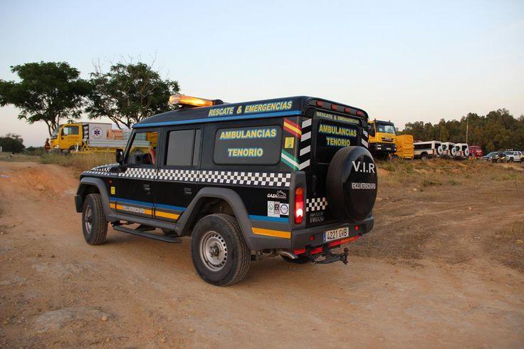 Vehículo todoterreno diseñado para ser usado en lugares de difícil acceso