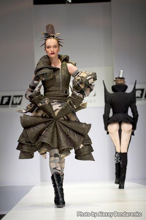 #extravagantes de la #moda #Rusa