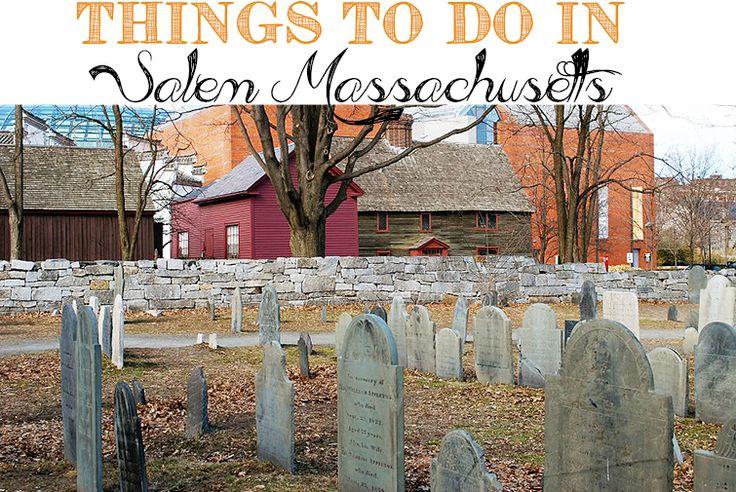 Things to Do in Salem, Massachusetts http://www.thesouthernthing.com/2014/10/things-to-do-in-salem-massachusetts.html