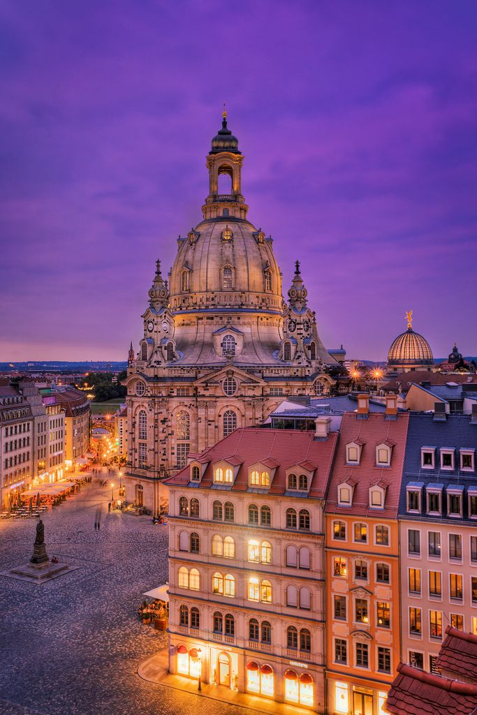 Frauenkirche - Dresden - Saxony - Germany (von ill-padrino www.matthiashaker.com)