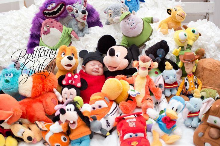 Find baby joey disney theme mickey newborn photography brittany gidley photography