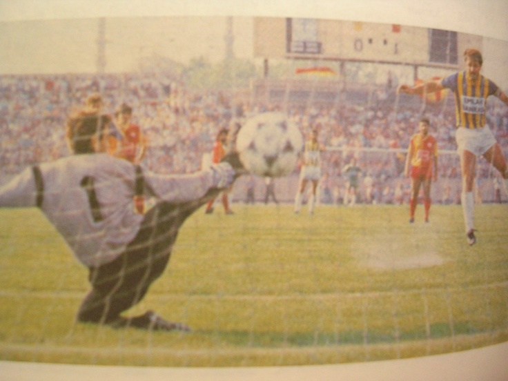11.08.1990 FB-gs: 5-2 / B. Şenol'un golü