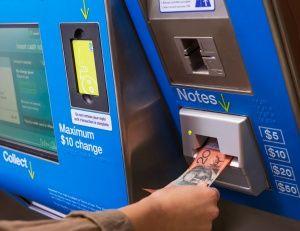 Myki machines - melbourne tram card