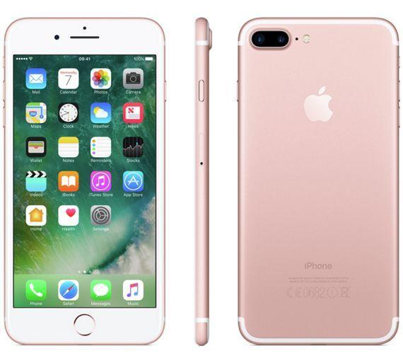 Buy Sim Free iPhone 7 Plus 32GB Mobile Phone - Rose Gold at Argos.co.uk, visit Argos.co.uk to shop online for SIM free phones, Mobile phones and accessories, Technology