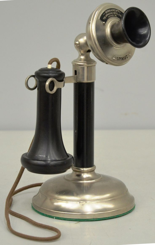 1919 Western Electric Candlestick 1050-AL Telephone #HotlineBling 1978.0025