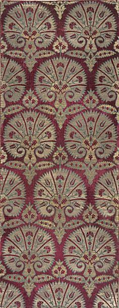 Stylized Carnations, second half of 16th century, Turkey