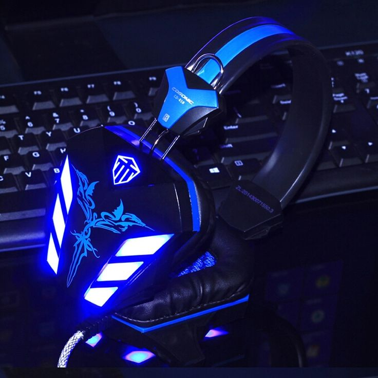 LED light gaming headphone audifonos gamer Headset,Earphone with Microphone for PC game music player,gaming headset in stock SmsAliexpress #smsaliexpress