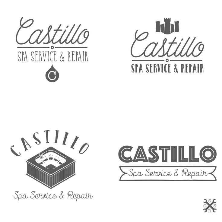 Logo Ideas for Castillo Spa Services. All Rights Reserved.