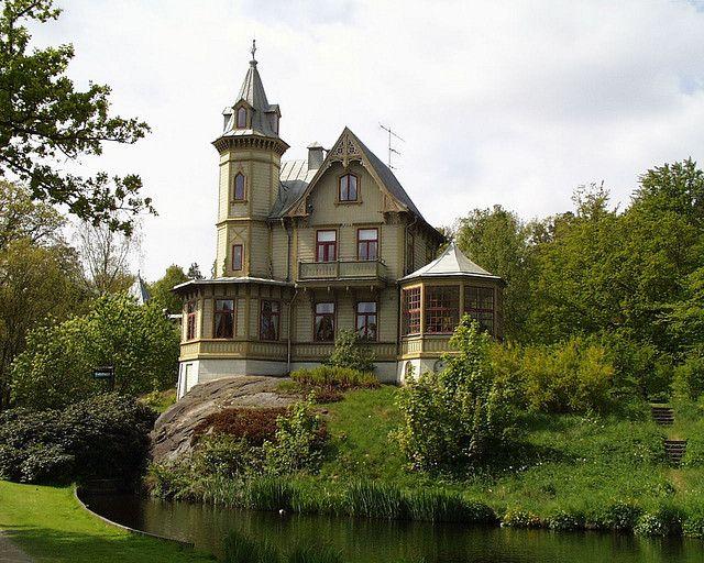 """The villa was built in Ronneby, Sweden for well known Swedish director Ernst von Heidenstam in 1884 and is known as """"Direktörsvillan"""" - or Director's Villa."""