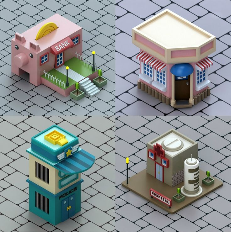 "SMC #76 ""Open Plans Layout"" - Isometric Art - 3DTotal Forums"