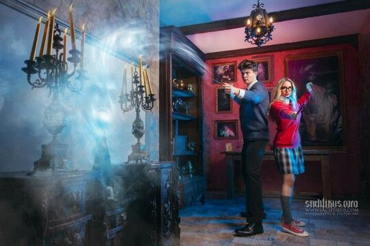 Escape room Questerland Harry Potter commercial